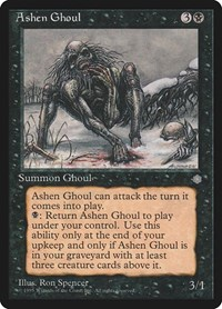 Ashen Ghoul, Magic: The Gathering, Ice Age