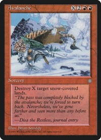 Avalanche, Magic: The Gathering, Ice Age