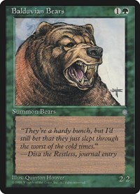 Balduvian Bears, Magic: The Gathering, Ice Age