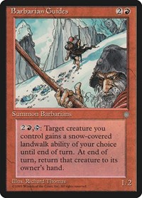 Barbarian Guides, Magic: The Gathering, Ice Age