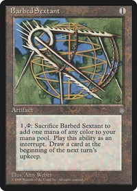 Barbed Sextant, Magic: The Gathering, Ice Age