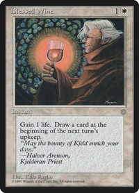Blessed Wine, Magic: The Gathering, Ice Age