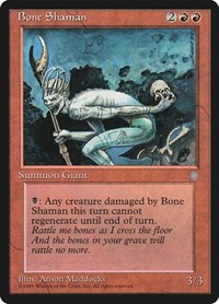 Bone Shaman, Magic: The Gathering, Ice Age