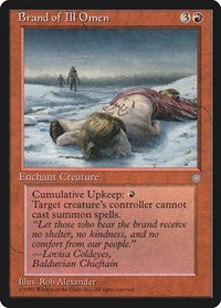 Brand of Ill Omen, Magic: The Gathering, Ice Age