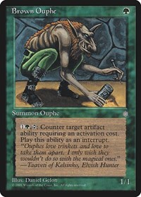 Brown Ouphe, Magic: The Gathering, Ice Age