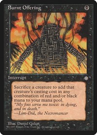Burnt Offering, Magic: The Gathering, Ice Age