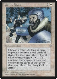 Call to Arms, Magic: The Gathering, Ice Age