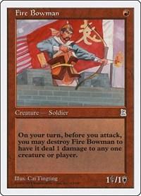 Fire Bowman, Magic: The Gathering, Portal Three Kingdoms