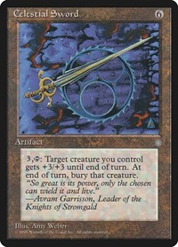 Celestial Sword, Magic: The Gathering, Ice Age