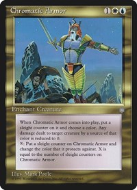 Chromatic Armor, Magic: The Gathering, Ice Age
