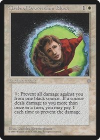 Circle of Protection: Black, Magic: The Gathering, Ice Age