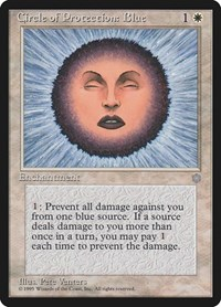Circle of Protection: Blue, Magic: The Gathering, Ice Age