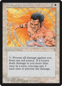Circle of Protection: Red, Magic: The Gathering, Ice Age