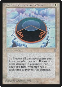 Circle of Protection: White, Magic: The Gathering, Ice Age