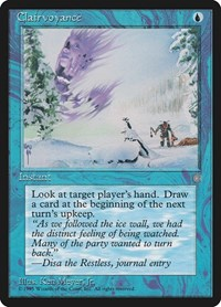Clairvoyance, Magic: The Gathering, Ice Age