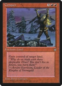 Conquer, Magic: The Gathering, Ice Age