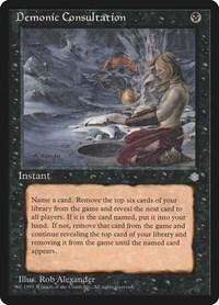 Demonic Consultation, Magic, Ice Age