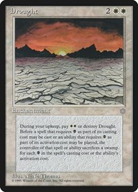 Drought, Magic: The Gathering, Ice Age