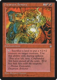 Dwarven Armory, Magic: The Gathering, Ice Age