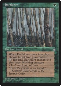 Earthlore, Magic: The Gathering, Ice Age