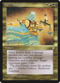 Fiery Justice, Magic: The Gathering, Ice Age
