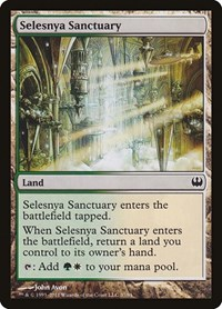 Selesnya Sanctuary, Magic: The Gathering, Duel Decks: Knights vs. Dragons