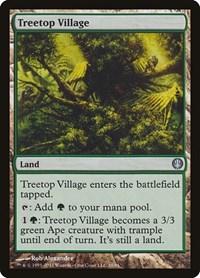 Treetop Village, Magic: The Gathering, Duel Decks: Knights vs. Dragons