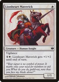 Lionheart Maverick, Magic: The Gathering, Duel Decks: Knights vs. Dragons