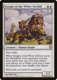 Knight of the White Orchid, Magic: The Gathering, Duel Decks: Knights vs. Dragons