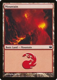 Mountain (78), Magic: The Gathering, Duel Decks: Knights vs. Dragons