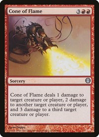 Cone of Flame, Magic: The Gathering, Duel Decks: Knights vs. Dragons