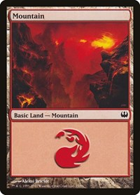 Mountain (79), Magic: The Gathering, Duel Decks: Knights vs. Dragons
