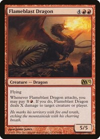 Flameblast Dragon, Magic: The Gathering, Magic 2012 (M12)