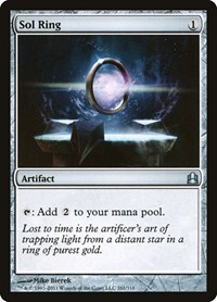 Sol Ring, Magic: The Gathering, Commander