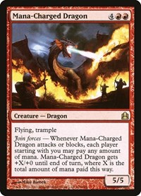 Mana-Charged Dragon, Magic, Commander