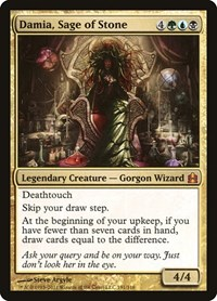Damia, Sage of Stone, Magic, Commander