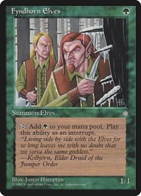 Fyndhorn Elves, Magic: The Gathering, Ice Age