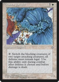 General Jarkeld, Magic, Ice Age