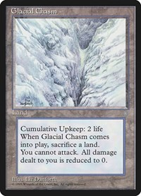 Glacial Chasm, Magic: The Gathering, Ice Age