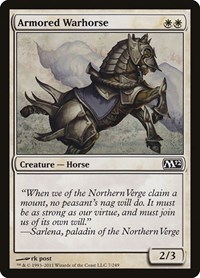 Armored Warhorse, Magic: The Gathering, Magic 2012 (M12)