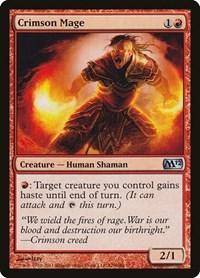 Crimson Mage, Magic: The Gathering, Magic 2012 (M12)