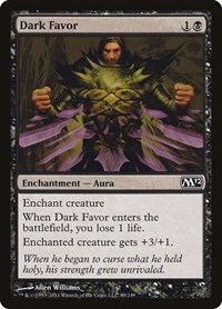 Dark Favor, Magic: The Gathering, Magic 2012 (M12)