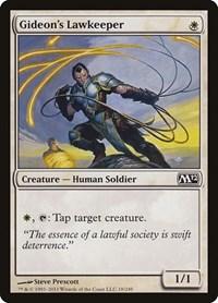 Gideon's Lawkeeper, Magic: The Gathering, Magic 2012 (M12)