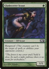 Gladecover Scout, Magic: The Gathering, Magic 2012 (M12)