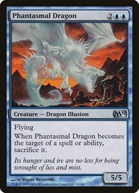 Phantasmal Dragon, Magic: The Gathering, Magic 2012 (M12)