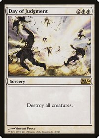 Day of Judgment, Magic: The Gathering, Magic 2012 (M12)