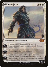 Gideon Jura, Magic: The Gathering, Magic 2012 (M12)