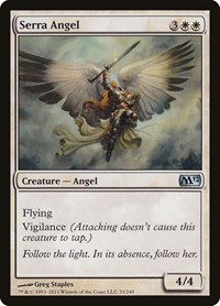 Serra Angel, Magic: The Gathering, Magic 2012 (M12)