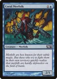 Coral Merfolk, Magic: The Gathering, Magic 2012 (M12)