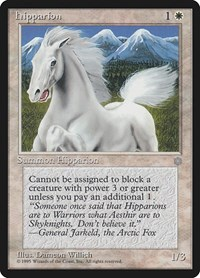 Hipparion, Magic: The Gathering, Ice Age